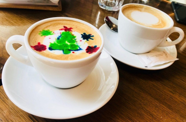 Color Latte Art